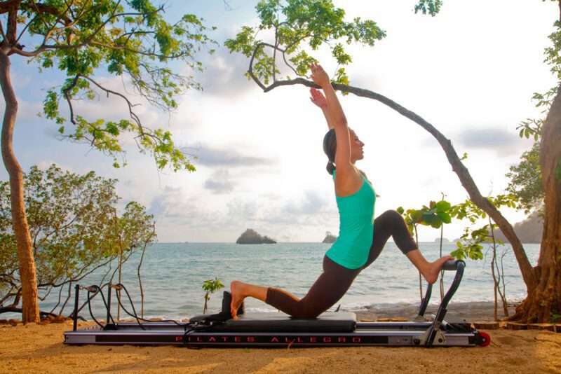 Exercise by the sea