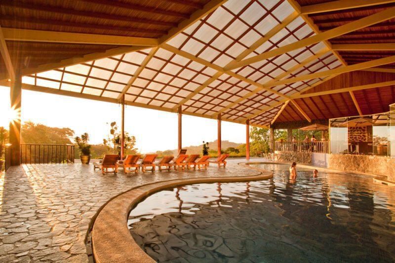 Pool at El Establo Mountain Hotel, Monteverde