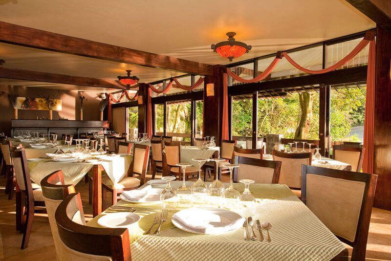 Restaurant at El Establo Mountain Hotel