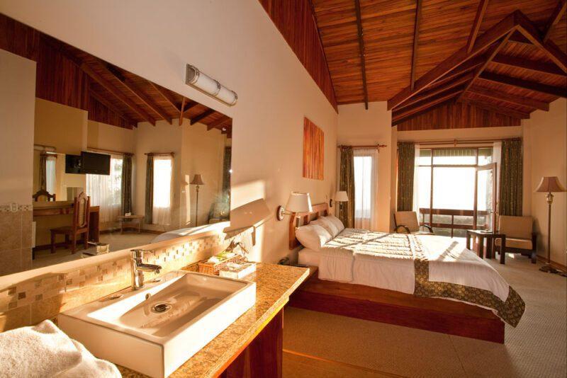 Standard room at El Establo Mountain Hotel