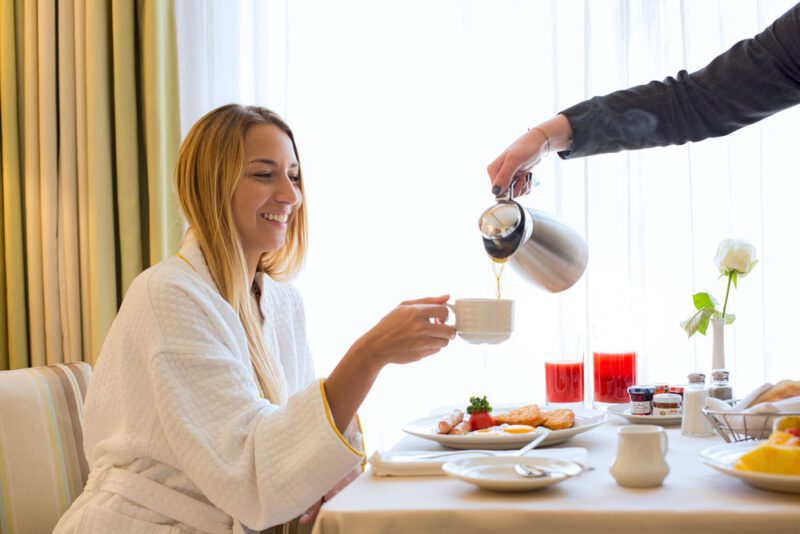 Room Service, just a way to give you a delightful stay