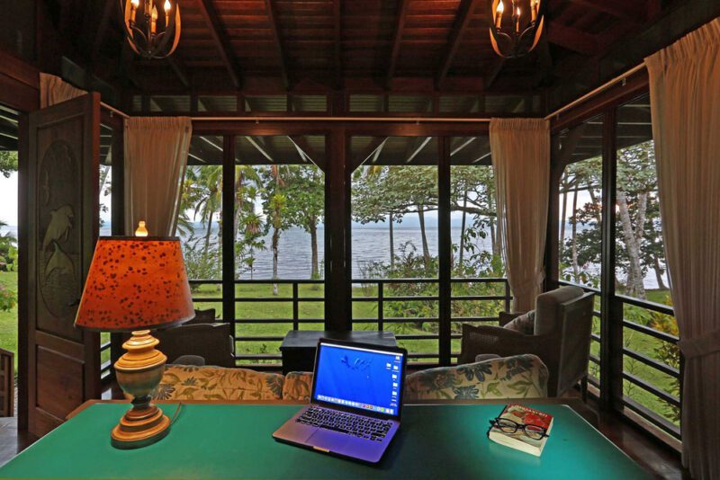Bungalow en Playa Cativo Lodge, Golfo Dulce