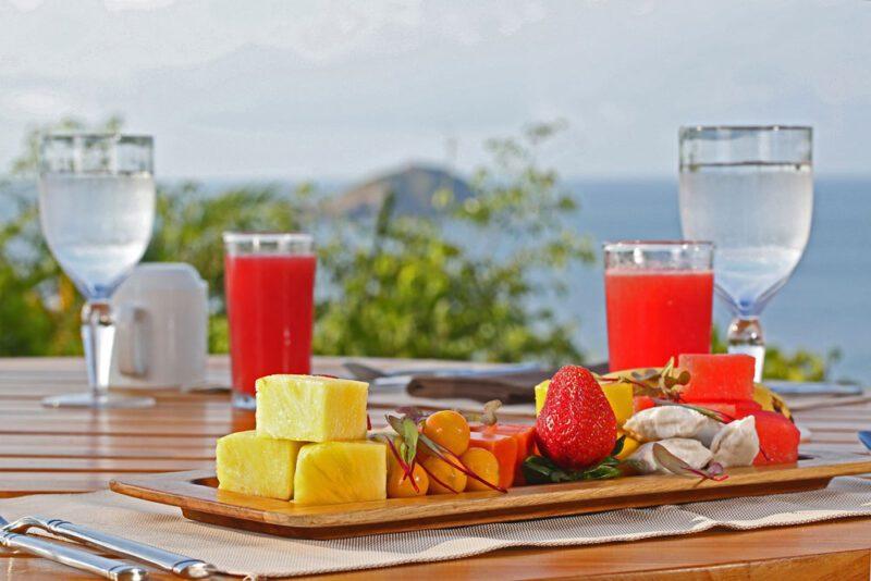 Desayuno colorido