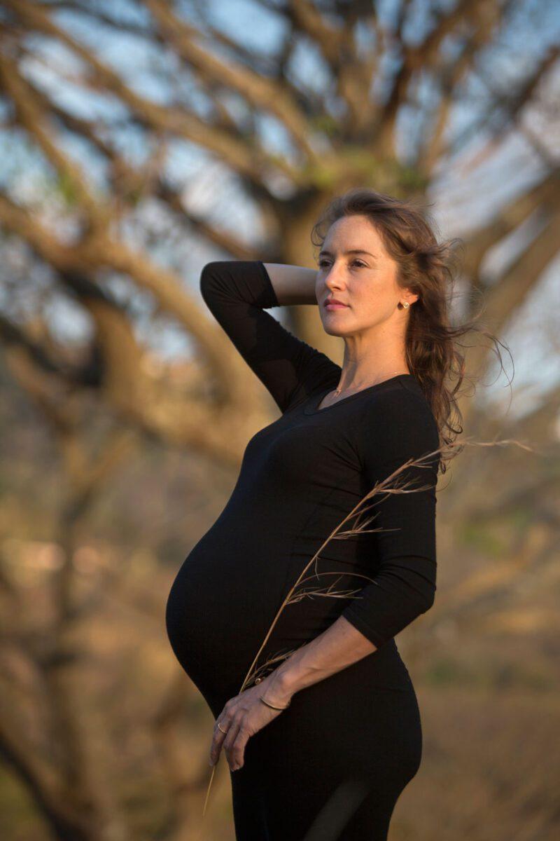 Mystical maternity portrait