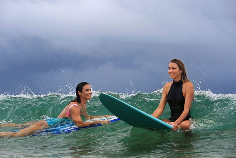 Surfer girls   Costa Elena