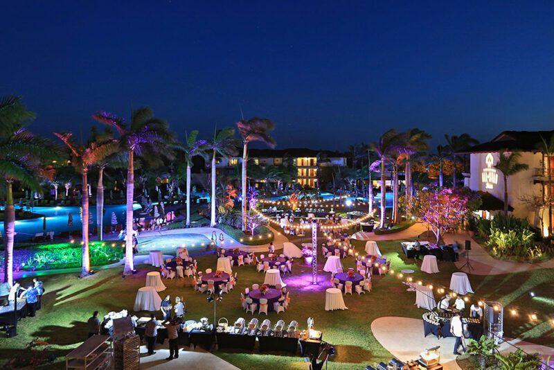 Recepcion de Bienvenida JW Marriott Guanacaste