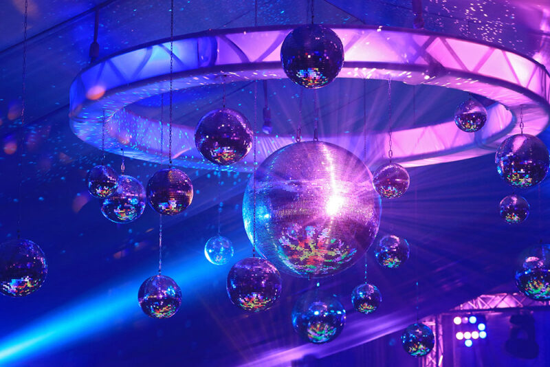 Solar System Disco Balls