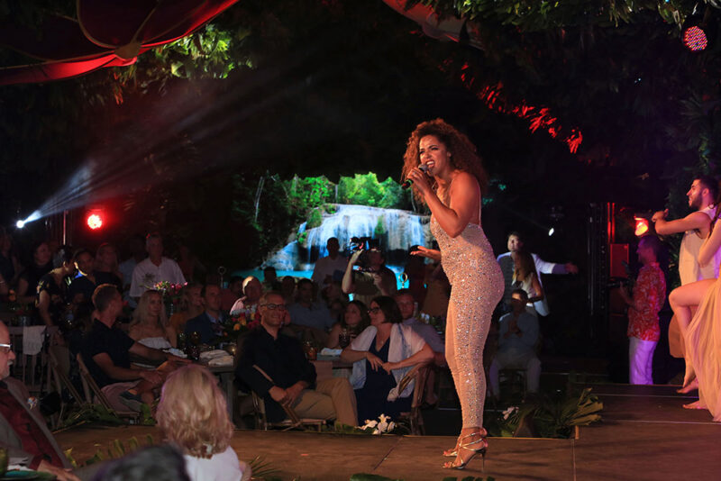 Beyonce inspired singer