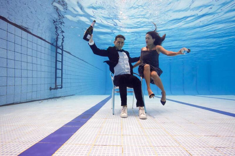Taking the Plunge - Alicia y Grego