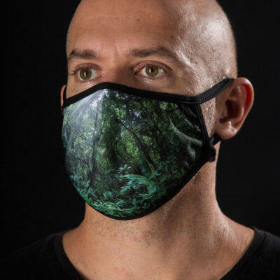 Face mask from the Ocean - Forest