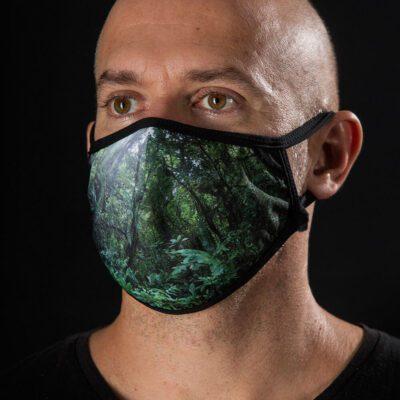Mascarilla protectora Máscaras del Mar - Bosque Nuboso