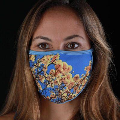 Mascarilla protectora máscara del Bosque - Corteza Amarilla