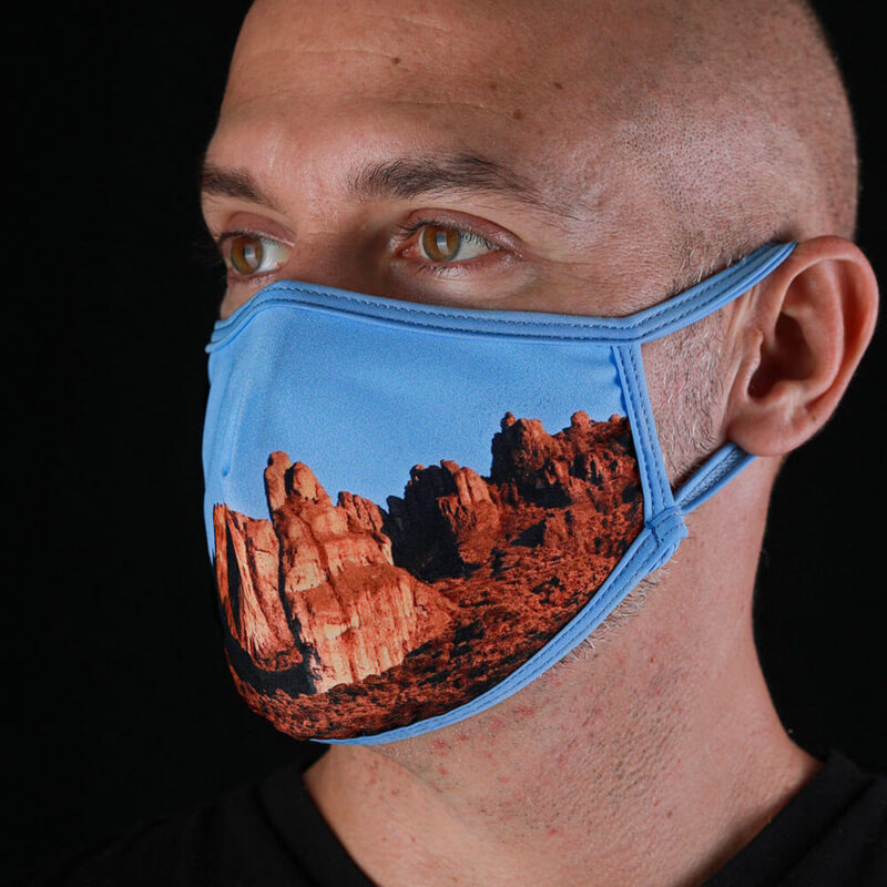 Face mask from the Ocean - Crestones Hills