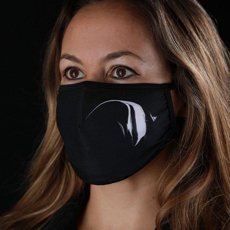 Face mask from the Ocean - Moorish Idol