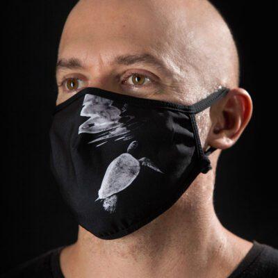 Mascarilla protectora Máscaras del Mar - Negra