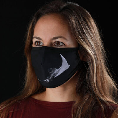 Mascarilla protectora Máscaras del Mar - Raya Águila