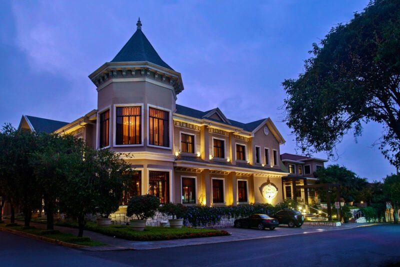 Fachada al atardecer - Grano de Oro Hotel   Cayuga Collection