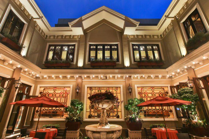 Terrace at sunset - Grano de Oro Hotel | Cayuga Collection