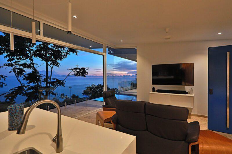 This biophilic architecture has enhanced the outdoor experience with functional simplicity - Casa de Luz | Costa Verde Estates